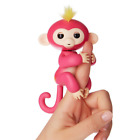 WowWee Fingerlings Baby Monkey Pink - Kids Electronic Interactive Finger Pet Toy