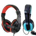 USB 3.5mm Headset Headband Stereo Surround Gaming Headphone w/ MIC For PC Gamer