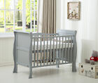 MCC®  Solid Wooden Cot bed Savannah Sleigh Cotbed & Water Repellent Mattress
