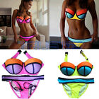 2017 New Sexy Women  Bikini Set Push-up Padded Bra Swimsuit -Swimwear