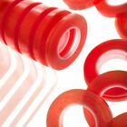 Red Liner Tape - High Tack - Double Sided - Assorted Widths - Very Strong