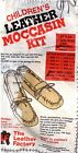 Native Heritage Leather BABYMoccasin Kit - Sm/Med/LG - TAN - Easy  NEW!
