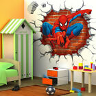 10 Styles 3D Superheroes Avengers Wall Decals Vinyl Sticker Kids Home/Room Decor