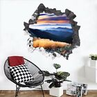 3D Mountains View 3302 Wall Murals Wall Stickers Decal Breakthrough WALLPAPER AU