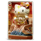 Hello kitty Doll Pattern Soft Silicone TPU Case Cover For Samsung iPad A08D76
