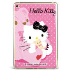 Hello kitty Cartoon Bear Pink Soft Silicone Case Cover For Samsung iPad A08D71