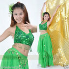 Brand New Sexy Belly Dance Costume Set Top & Skirt 11 Colors Free Shipping