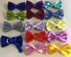 New Satin Pre Tied Adjustable Fancy Bow Ties Stag Christmas Wedding Party Prom