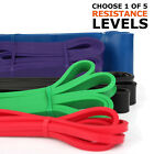 5SET HEAVY DUTY RESISTANCE BAND LOOP POWER GYM FITNESS EXERCISE YOGA WORKOUT LOT