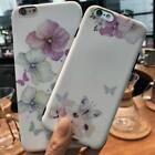 Luxury Flower TPU Back Cover Shockproof Case Protect For Apple iPhone 6 7 8 Plus