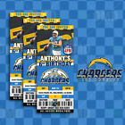 Los Angeles Chargers Ticket Style Sports Party Invites $25.0 USD on eBay