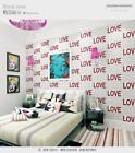 Modern Style Embossed Letter Pattern Non-woven Aisle TV background Wallpaper5.3㎡