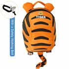 Cartoon Kids Baby Toddler Safety Harness Strap Backpack Bag with Reins UK