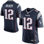 new boy/youth S/M/L/XL Nike nfl apparel patriots tom brady #12 replica jersey$75