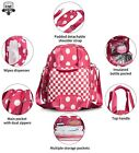 Large Diaper Bag Backpack,3in1 Multi-function Nappy Baby Hand Shoulder Bags Wate