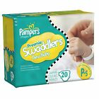 Pampers Preemie Swaddlers Tab Closure Newborn Disposable Diaper