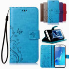 Butterfly Leather Flip Case Cover Card Slot Wallet For Samsung Galaxy Note8 S8+