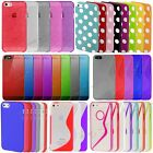 Diamond Bling Silicone Rubber TPU Gel Round Game Case Cover For iPhone 5S,5,SE