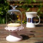Cupcake Stand with Glass Bird + Free Personalised Engraving (optional)