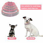 Dog Necklace PU Leather Straps with Rhinestone Collars For Chihuahua Pets Dogs