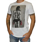 Religion Clothing Herren T-Shirt Out for the Count schwarz weiss sexy Girl