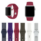 NEW Replacement Silicone Wrist Sport Band Strap For Apple Watch Series 3/2/1  image