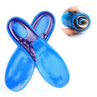 Unisex Silicone Gel Insoles Orthopedic Arch Support Trainer Sport Shoe Care Pad