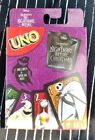 NEW UNO Disney's Tim Burton's The Nightmare Before Christmas UNO Game 112 cards