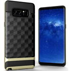 Hybrid Armor Shockproof  Dual Layer 3D prism Case for Samsung Galacy Note 8