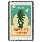 "Star Trek TNG ""Ep 3.19 - Captain's Holiday"" Dye Sublimation Blanket/Throw"