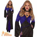 Adult Mistress of Seduction Costume Ladies Halloween Witch Fancy Dress Vampire