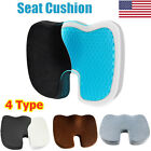 Cooling Gel Seat Cushion Memory Foam Coccyx Car  Chair Pillow Orthopedic USA