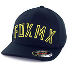 "Fox Head Racing ""Direct"" FlexFit Hat (Black) Men's Precurved Stretch Cap"
