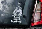 Royal Marines - Car Window Sticker - Forces Military British Navy Army Decal V01