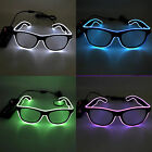 Innovative EL Cold Light Luminescent Glasses Party Stage Props Bars Decoration