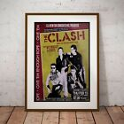 The Clash 1979 Early USA Concert Poster Print Three Sizes NEW Exclusive