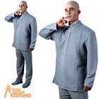 Adult Austin Powers Dr Evil Costume Mens Fancy Dress Outfit New