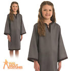 Child Anglo Saxon Costume Grey Girls Book Week Day Fancy Dress Outfit New