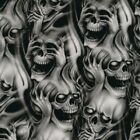 Hear No Evil ROLLED Hydrographics Film Skulls Hydro Dipping