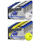 NEW SRIXON Q-STAR TOUR 6 DOZEN GOLF BALLS - CHOOSE WHITE OR YELLOW