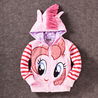 Kids Baby Girls Hoodies My Little Pony Wing Sweater Sweatshirt Coat Zip Jacket фото