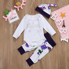 Adorable Newborn Baby Boys Girls Cotton Romper Coming Home Outfits Clothing Set <br/> ❤BRAND NEW STYLE❤EXCELLENT QUANTITY ❤FAST &amp; CHRISTMAS❤