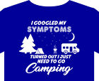 Motorhome T shirt S-5XL campervan grey nomads tent aire beach holiday gift
