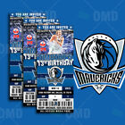 Dallas Mavericks Ticket Style Sports Party Invites on eBay