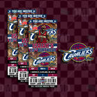 Cleveland Cavaliers Ticket Style Sports Party Invites on eBay