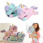 UNICORN PILLOW THROW CUSHION PLUSH TOY STUFFED DOLL KIDS CHRISTMAS GIFT GROOVY