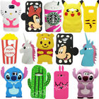 samsung core 3 - 3D Cartoon Case Kids Girls Soft Silicone Back Cover for Samsung Galaxy Phones