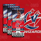 Washington Wizards Ticket Style Sports Party Invites on eBay