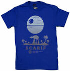 Men's Star Wars Rogue One Scarif Sunset Ombre T-Shirt $26.29 USD