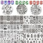 Born Pretty Nail Art Stamping Plates Christmas Thanksgiving Halloween Templates